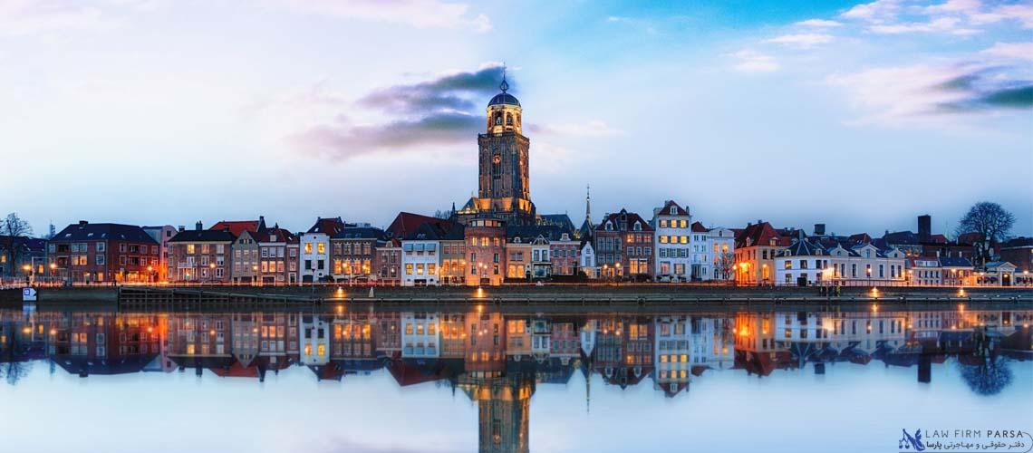 تقسیمات سیاسی در هلند